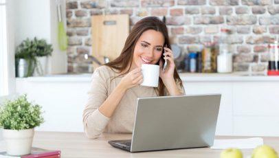 Consigli utili per affrontare il lavoro da casa; pensatevi sempre come foste in ufficio e ambite alla realizzazione dei vostri obiettivi.